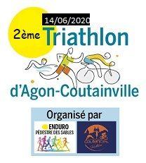 Triathlon d'Agon Coutainville – 14 Juin 2020